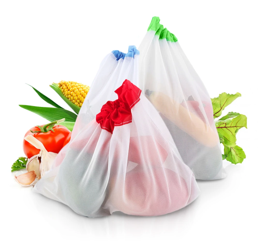 fruits veggies bags