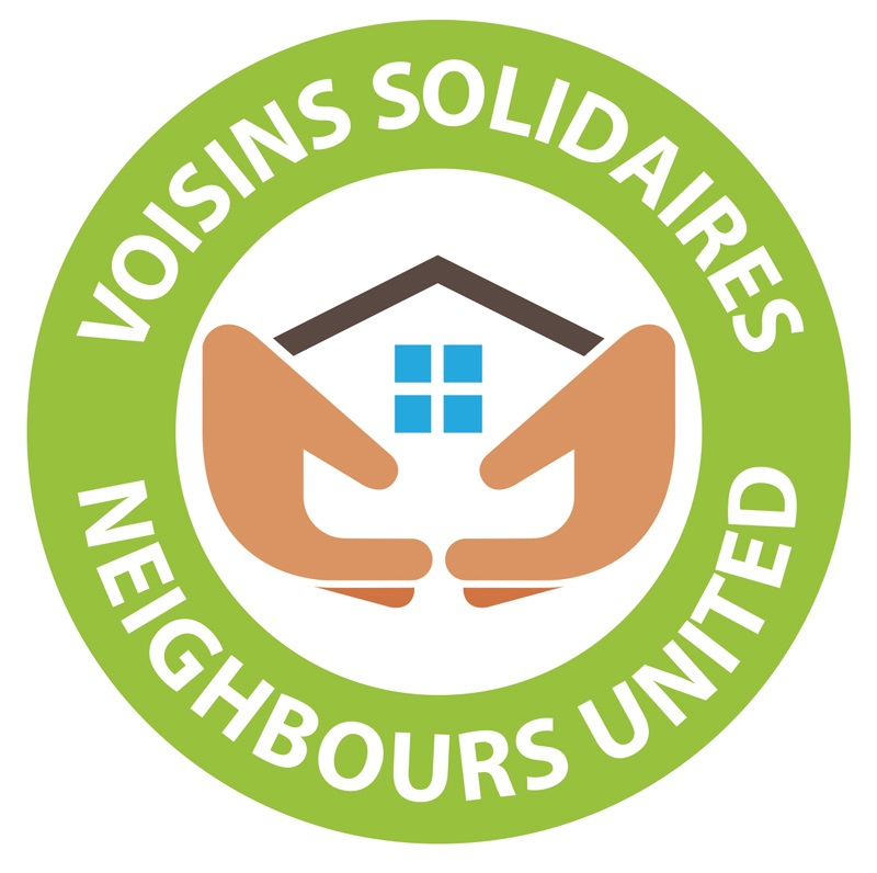 neighbours united logo voisins solidaires